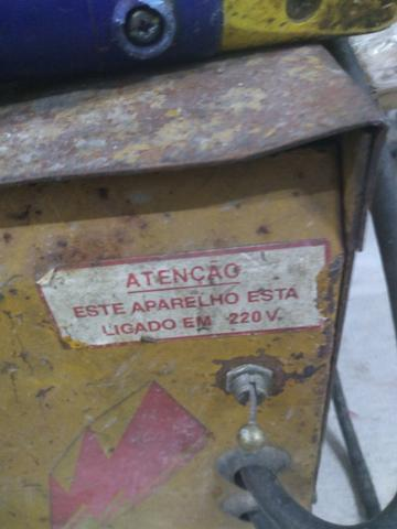 Máquina de solda muito conservada - Foto 3