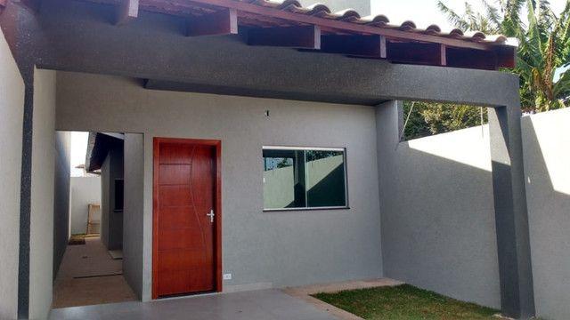 Casa nova com 2 quartos - Vilas Boas