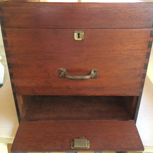 Vitrola Antiga Webster Caixa De Madeira para Restauração / Decoração - Foto 5