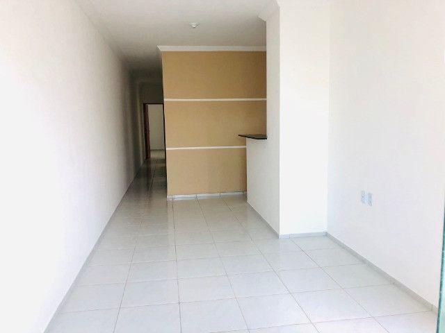 WS casa nova com 3 quartos,2 banheiros,coz.americana,quintal com otima localização - Foto 5