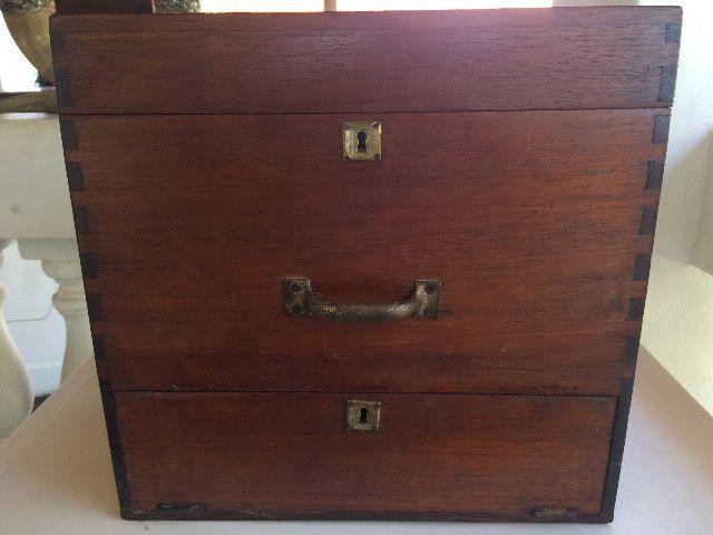 Vitrola Antiga Webster Caixa De Madeira para Restauração / Decoração - Foto 3