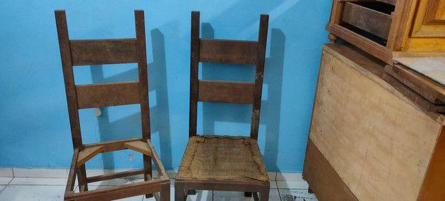 Cadeira para customizar antiga  - Foto 3