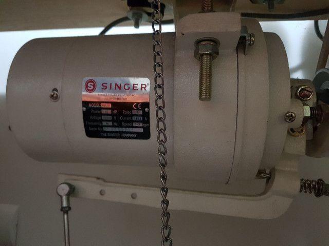 Máquina de Costura Overlock Singer Direct Drive Bivolt - 3 Fios - Foto 3