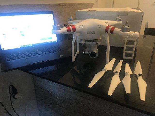 Drone Dji Phantom 3 Standard (atualizado-calibrado) - Foto 2