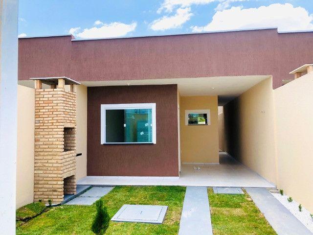 WS casa nova com 3 quartos,2 banheiros,coz.americana,quintal com otima localização - Foto 15