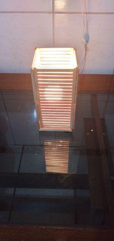 Luminária artesanal  - Foto 2