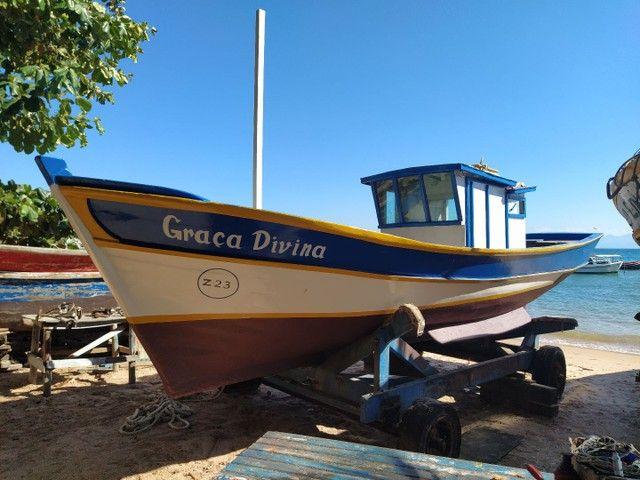 Casco traineira barco - Foto 6