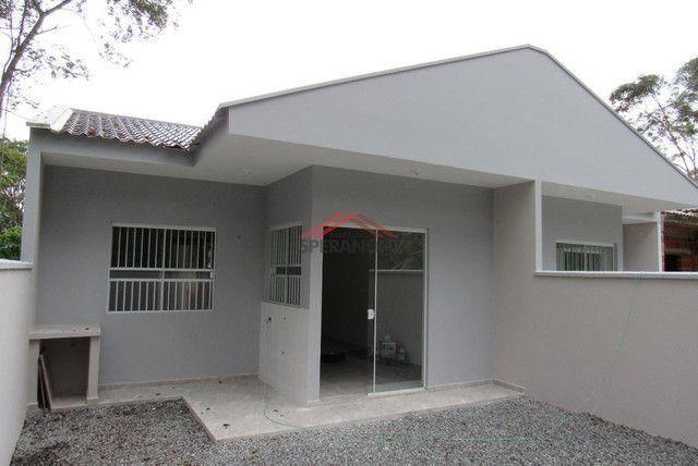 ? Casa nova c/ 2 quartos, ótimo padrão de acabamento R$139.500,00 - Baln. Brandalize - Foto 11