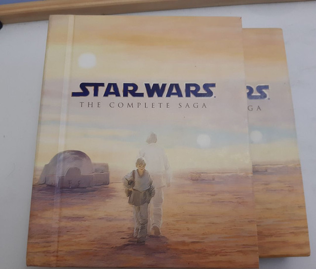 Blu-Ray Star Wars Episódios 1 ao 6 mais 3 DVDs com extras - Foto 2