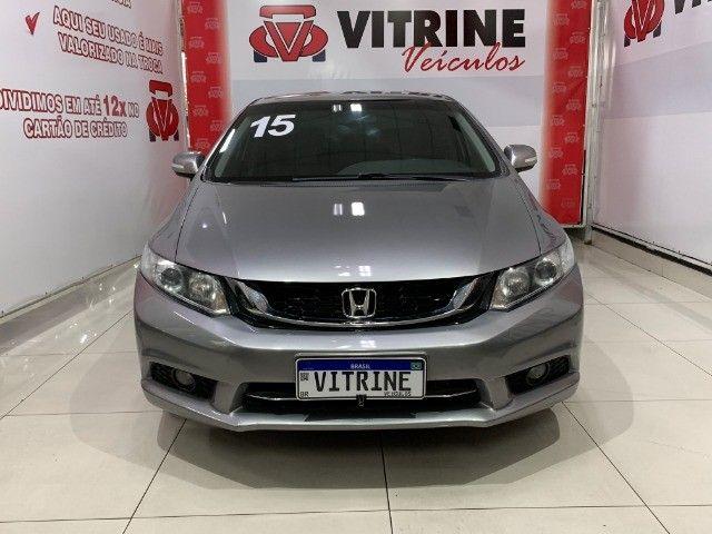 Civic LXR 2.0 ZERO demais 2015 - NOVO! - Foto 4