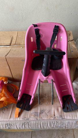 Balanço, colete e cadeira da bike - Foto 4