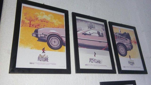 Kit Quadros De Volta para o Futuro  - Foto 4