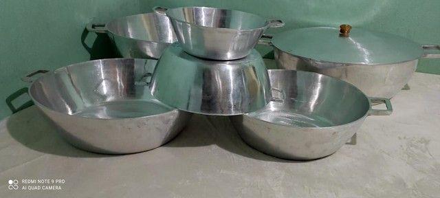 Tachos de alumínio batido tamanhos e valores diferenciados  - Foto 2