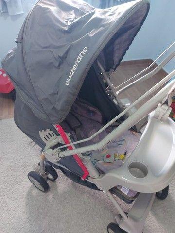 Carrinho de bebê novinho (aceito cartão) - Foto 4