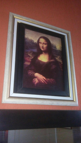 Quadro Mona Lisa  - Foto 3