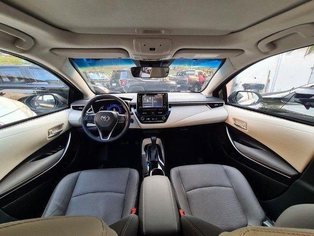 Toyota Corolla Altis Premium Hybrid, Blindado 3A, Apenas 11 mil km, Impecavel - Foto 14