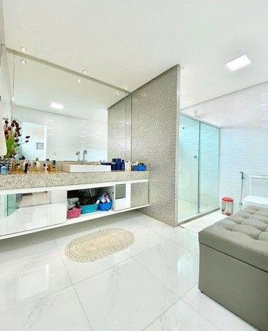 Linda casa em condomínio, 3 suítes, closet, perto da Fraga Maia. - Foto 9