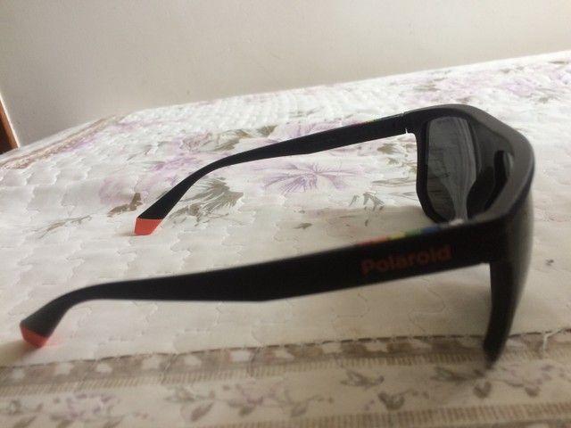 Óculos polaroid semi novo - Foto 2