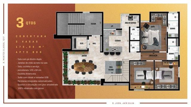 Apartamento para venda possui 114 metros quadrados com 3 quartos em Anchieta - Belo Horizo - Foto 16