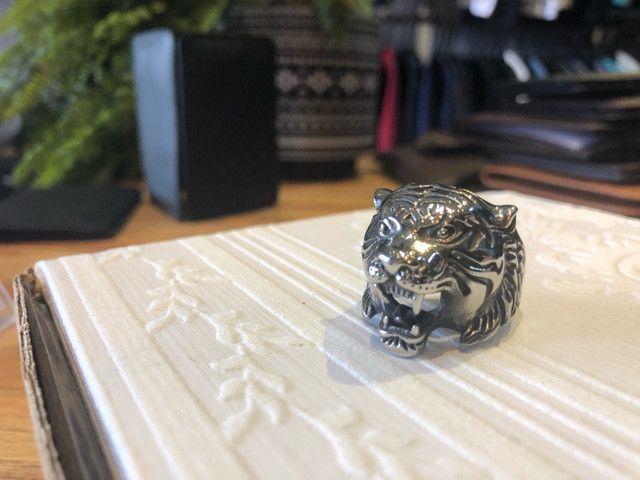 Anel de Aço Inoxidável - Leopardo - Foto 3