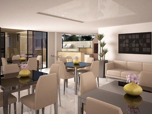 Vende-se Apto no EDF. Chardonnay, 3 suítes + Gabinete, Ponta Verde, 140m². - Foto 8