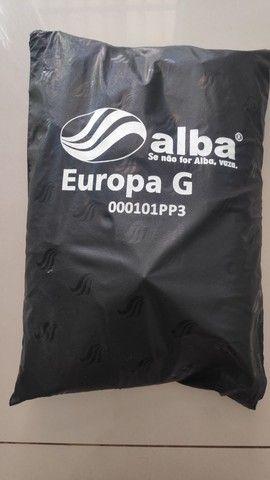Capa de Chuva Alba Europa para Motociclista - Impermeável - 03 Bolsos - Tam. G