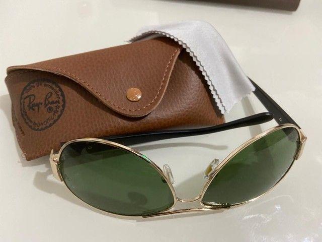 Óculos Ray Ban Unisex Metálico Modelos 100% Atualizados  - Foto 5