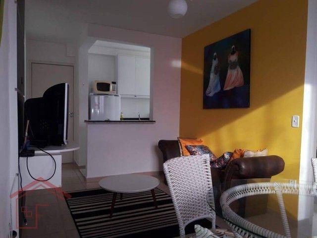 Residencial Spazio Classique, região São Francisco, com 02 dormitórios todo mobiliado acei - Foto 6