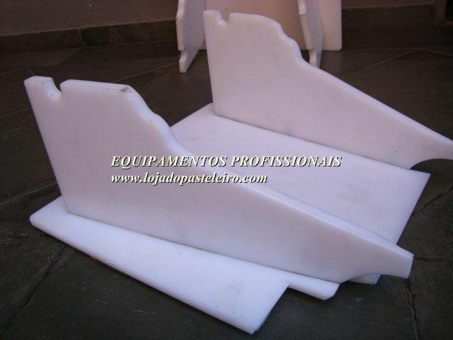 .Tabuleiro Suporte Plástico Polietileno para Cilindro Leão * Peça Única