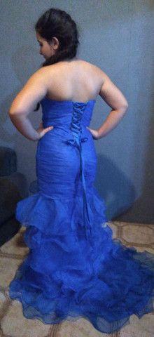 Vestido de festa azul royal, lindo!!! - Foto 2