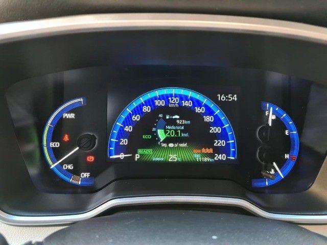 Toyota Corolla Altis Premium Hybrid, Blindado 3A, Apenas 11 mil km, Impecavel - Foto 4