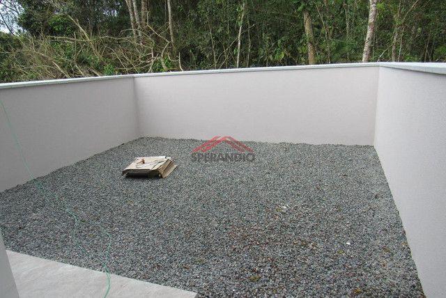 ? Casa nova c/ 2 quartos, ótimo padrão de acabamento R$139.500,00 - Baln. Brandalize - Foto 12
