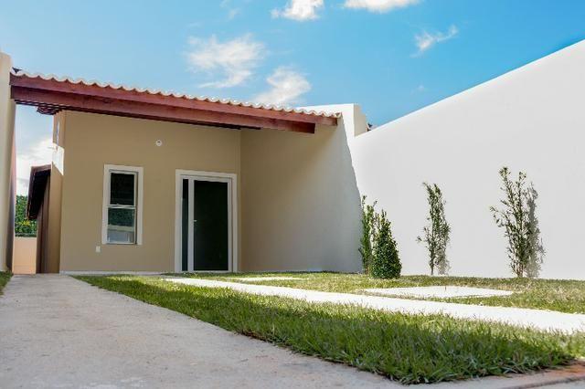 Lindas Casas planas no Parque Dom Pedro Com 03 quartos, com documentos Grátis
