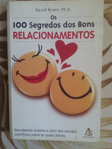Livro - Os 100 Segredos dos Bons Relacionamentos - Auto Ajuda