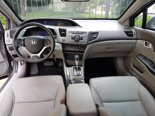 Civic LXL automatico 2013 Blindado Nivel IIIA - Foto 13
