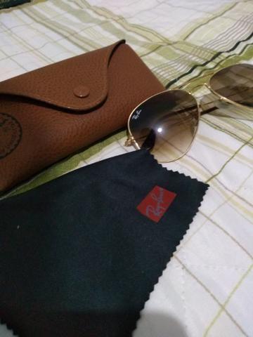 45b91f3314113 Oculos Rayban Aviador Original - Bijouterias, relógios e acessórios ...