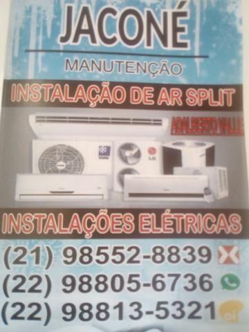 Ar spliti e ar de janela conserto e instalação *
