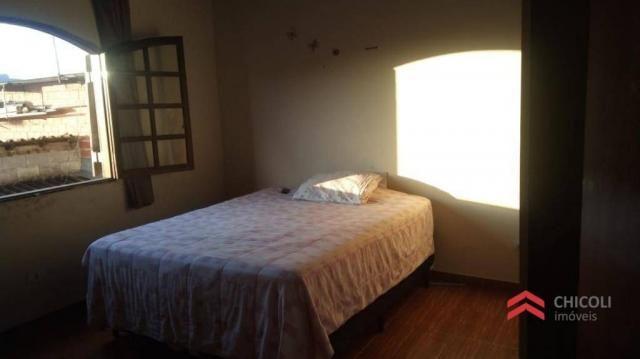 Casa com 3 dormitórios para alugar, 240 m² - parque ruth maria - vargem grande paulista/sp