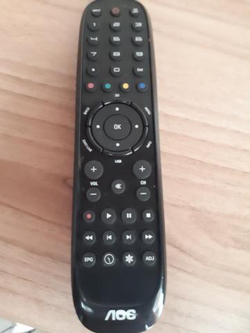 84ba9d4b1 TV 3D LED 39  Full HD AOC LE39D7430 com Conversor Digital e Entrada HDMI e