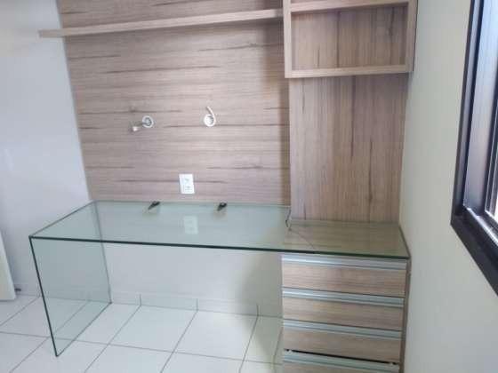 Vendo lindo apartamento 3/4 sendo 1 suite com dependência na abel cabral todo mobiliado - Foto 13