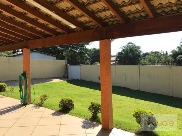 Chácara com 6 dormitórios para alugar, 1354 m² por r$ 5.000,00/mês - chácara recreio alvor - Foto 10