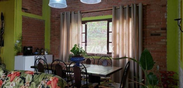 Linda casa com 2 dormitórios à venda, 160 m² por R$ 318.000,00 - Chácara Recanto Verde - C - Foto 16