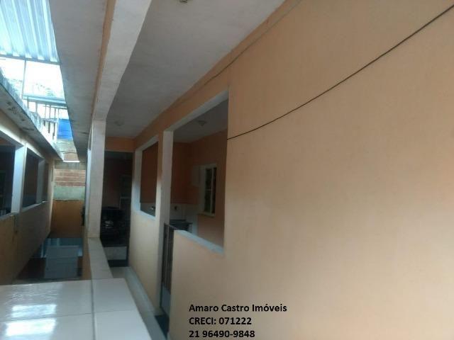 COD 168 - Prédio com 10 casas 1 e 2 qts - em frente Centro Comercial de Cabuçu - NI - Foto 3