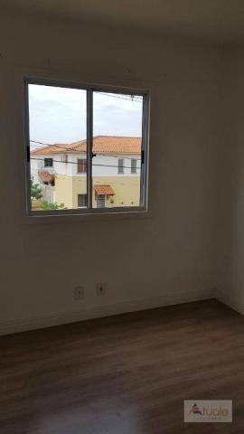 Apartamento com 3 dormitórios à venda, 63 m² - Villa Flora Hortolandia - Hortolândia/SP - Foto 16