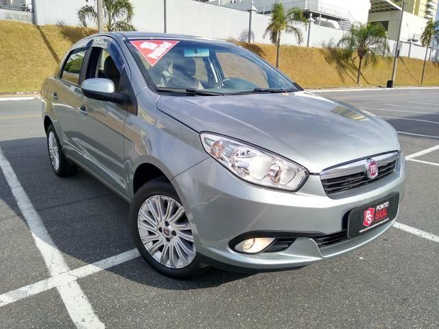 ® Fiat Gran Siena Essence 1.6 2014/2015 (Flex)(Mec) Baixo Km + Excelente Estado - Foto 2