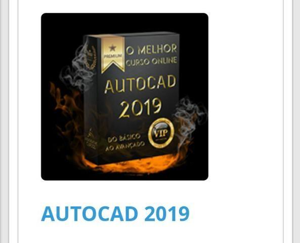 O Melhor curso online AutoCAD 2019