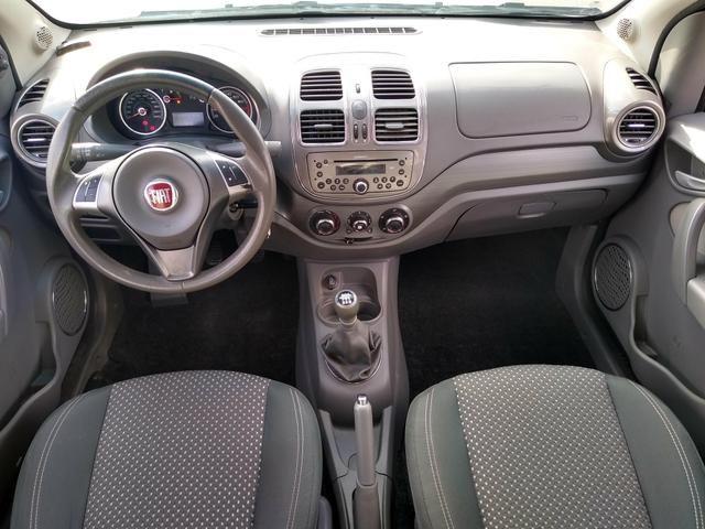 ® Fiat Gran Siena Essence 1.6 2014/2015 (Flex)(Mec) Baixo Km + Excelente Estado - Foto 5