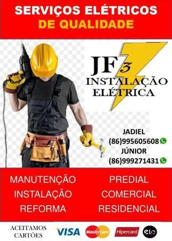 Serviços instalações elétricas