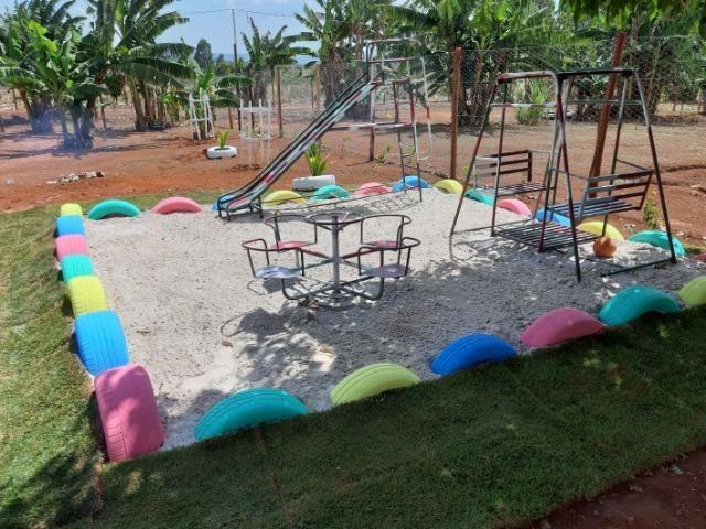 Chacara para eventos e festas no recanto das emas a 100mts do asfalto - Foto 3