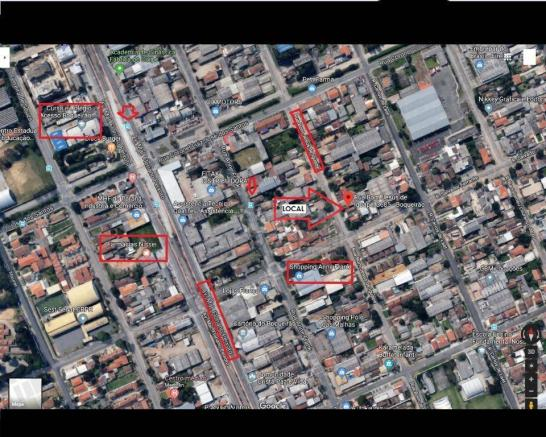 Terreno à venda, 366 m² por R$ 350.000,00 - Boqueirão - Curitiba/PR - Foto 3